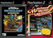 activision anthology & midway arcade treasures  PS2 PAL
