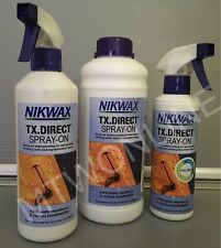 Nikwax TX Direct Spray On Waterproofing Spray Recommended For Gore-Tex Clothing