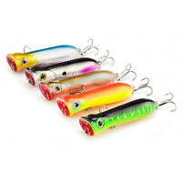 Lot 5 Fishing Spoons Sinking Metal Lure Trolling/&Casting Laser-Spoon Lures  Z9H7