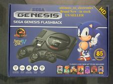 SEGA Genesis Flashback 2018 AtGames Console 85 Classic Games Wireless Controller
