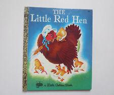 Little Golden Book: The Little Red Hen (1969, Hardcover)