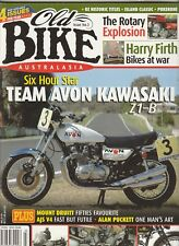 Kawasaki Z1 B Norton Manx AJS V4 BSA Rally The Rotary Club   Rare OLD BIKE # 3