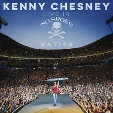 KENNY CHESNEY LIVE IN NO SHOES NATION 2CD - Released October 27th 2017