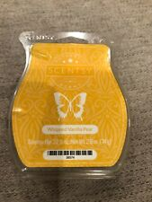 Scentsy Whipped Vanilla PearWax Melts Discontinued Htf Scent