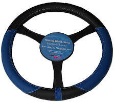 Subaru Impreza Outback 37-39 cm Soft Grip Steering Wheel Glove Cover BLUE KA1325