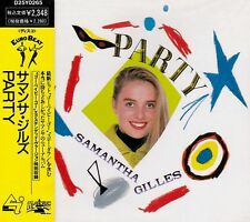 SAMANTHA GILLES Party +1 RARE JAPAN CD D25Y0265 NO OBI Eurobeat