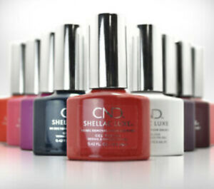 CND SHELLAC LUXE GEL POLISH 2 FOR £10.00 FREE P+P - BUY MIN. OF 2 TO GET 50% OFF