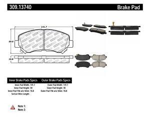StopTech Performance Brake Pads - st309.13740