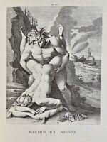 Agostino Carracci Erotik Bacchus Ariadne Penis Akt Vagina Mythologie Antike