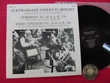 LP LEFEBURE Furtwangler Lefebure Mozart Symphony No.40 Piano Concerto No.20 USA