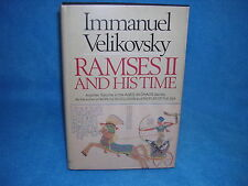 Ramses Second and His Time by Immanuel Velikovsky (1978, Hardcover)