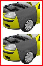 Dos mecánica Magnético coche alerón delantero carrocería Scratch protección cubre