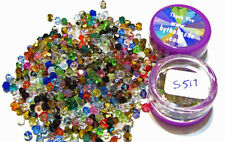 Genuine Swarovski Crystal Bicone Beads 4mm COLOR MIX - Lot of 50 or 100 - S517