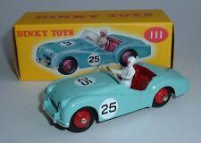 DeAgostini / Dinky Toys No. 111, Triumph TR2 Sports Car, - Superb Mint.