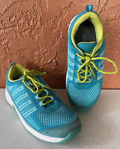 Orthofeet Biofit Womens Coral Pain Relief Comfort Athletic Shoes Size 9.5 D WIDE