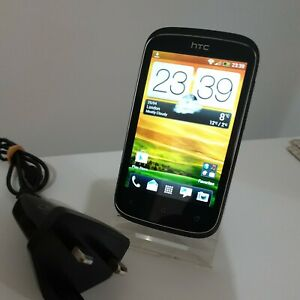 Grade A HTC Desire C - 4GB - Stealth Black (Unlocked) Smartphone Mobile
