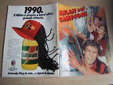 MILAN DEI CAMPIONI=I QUADERNI DELLA GAZZETTA DELLO SPORT=COPPA DEI CAMPIONI 1989