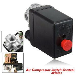 Pressostat Compresseur d'air Commutateur Valve Pompes à air 90-125PSI 220V