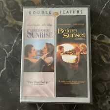 Before Sunrise Before Sunset Dvd, 2-Disc Set Ethan Hawke New Sealed