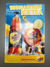Plaque métallique publicitaire Lipton Ice Tea (GW)