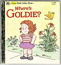 "Children's First Little Golden Book ~ WHERE'S GOLDIE? ~ DiFiori ""A"" Edition"