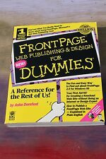 Front Page Web Publishing & Design for dummies, #9780764500572