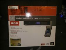 New listing Rca Sps3600 Under Cabinet Kitchen Radio Functional With Hardware Cd Player
