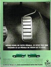 Publicité advertising 1997 Renault Megane dTi