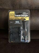 Premium Tech Professional PT-20 Canon Minolta Camera Digital Charger Travel New!