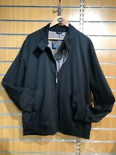 Ben Sherman 2XL Harrington Jacket (Black)
