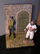 120mm Doorway Diorama - Wall with door way and Base - All Period 1/16th scale