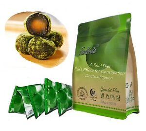 Green diet plum for   Natural Detox / Fat burn / Constipation Treatment  10g * 5