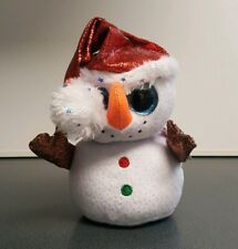 Ty Beanie Boos - FLURRY the Christmas Snowman (6 Inch) 2019 NEW MWMT