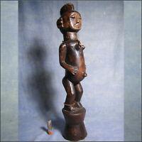 AFRICANTIC STATUE URHOBO NIGERIA ART TRIBAL AFRICAIN ANCIEN STATUETTE AFRICAINE