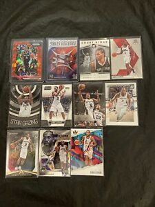 Kawhi Leonard Lot (11) With Inserts, San Antonio Spurs