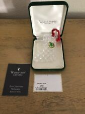Waterford Crystal 1992 Christmas Stocking Ornament