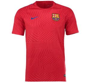 Barcelona 2016-17 boys pre-match warm up top by Nike - XL (age 13-15, 158-170cm)