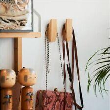 Set of 2 - New Ikea Skuggis Hook, bamboo 5.4 x 7 cm