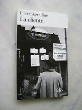 Pierre Assouline - La cliente - Folio poche