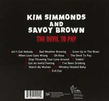 The Devil To Pay [ NEWLY ENHANCED CD ] Kim Simmonds & Savoy Brown - READ BELOW