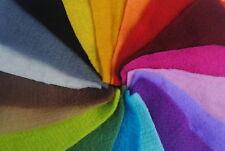 "Heidifeathers Pre felt Mix 18 Colours in 6"" Squares. 100% Merino Wool - Felting"