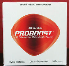 NEW Genicel PROBOOST Thymic Protein A 30 packets Exp Date 03/2020 - FRESH