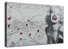 Quadri Moderni 1 pz 120x70 XXL Stampa su Tela Quadro Moderno Casa Marilyn Monroe