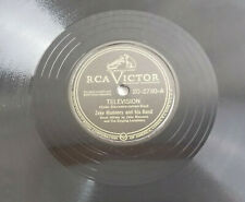 "Zeke Manners Television / Ever Since Eve RCA Victor 78 RPM 10"" Shellac Folk"