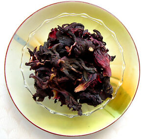 Hibiscus Cut Herbal Tisane Tea Pure Hand Picked Deep Red Jamaica No Additives