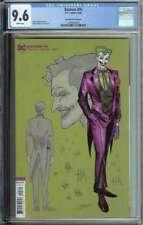 Batman #95 CGC 9.6 1:25 Jimenez Variant Joker War