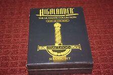 Highlander Series: Best of the Best (DVD, 2007, 6-Disc Set) *Brand New Sealed*