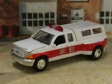 Fire Chief's 1999 - 2004 FORD F-350 Super Cab Dually 1/64 Scale Limited Edit C2