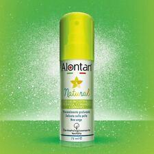 ALONTAN natural lozione spray anti-zanzare citronella coriandolo e geranio 75 ml