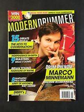 Modern Drummer Magazine June 2007 Marco Minnemann